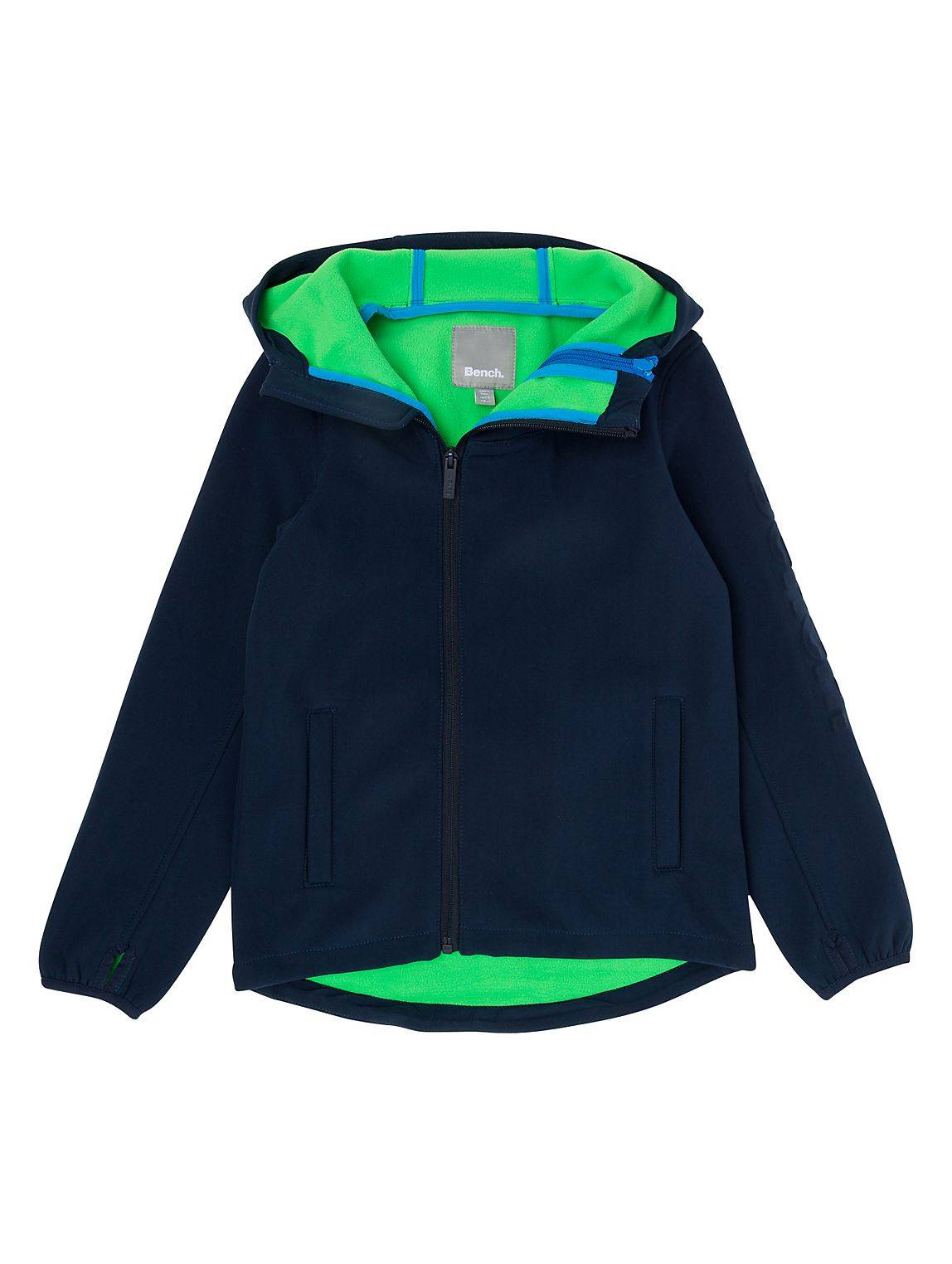 Bench Double Zip Softshell (11-12 yrs)