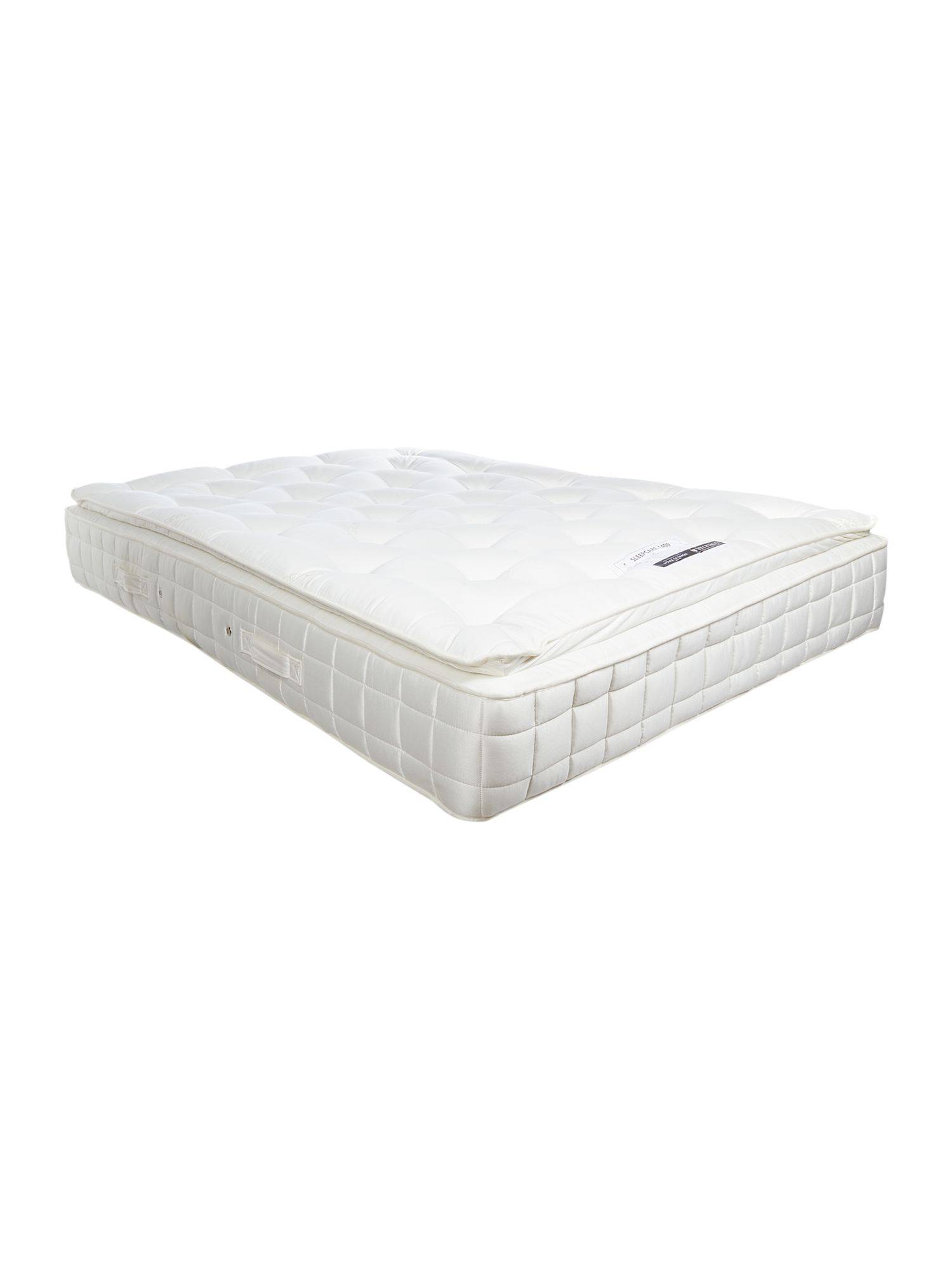 LINEA Home by Hypnos Sleepcare 1400 king pillow top mattress soft