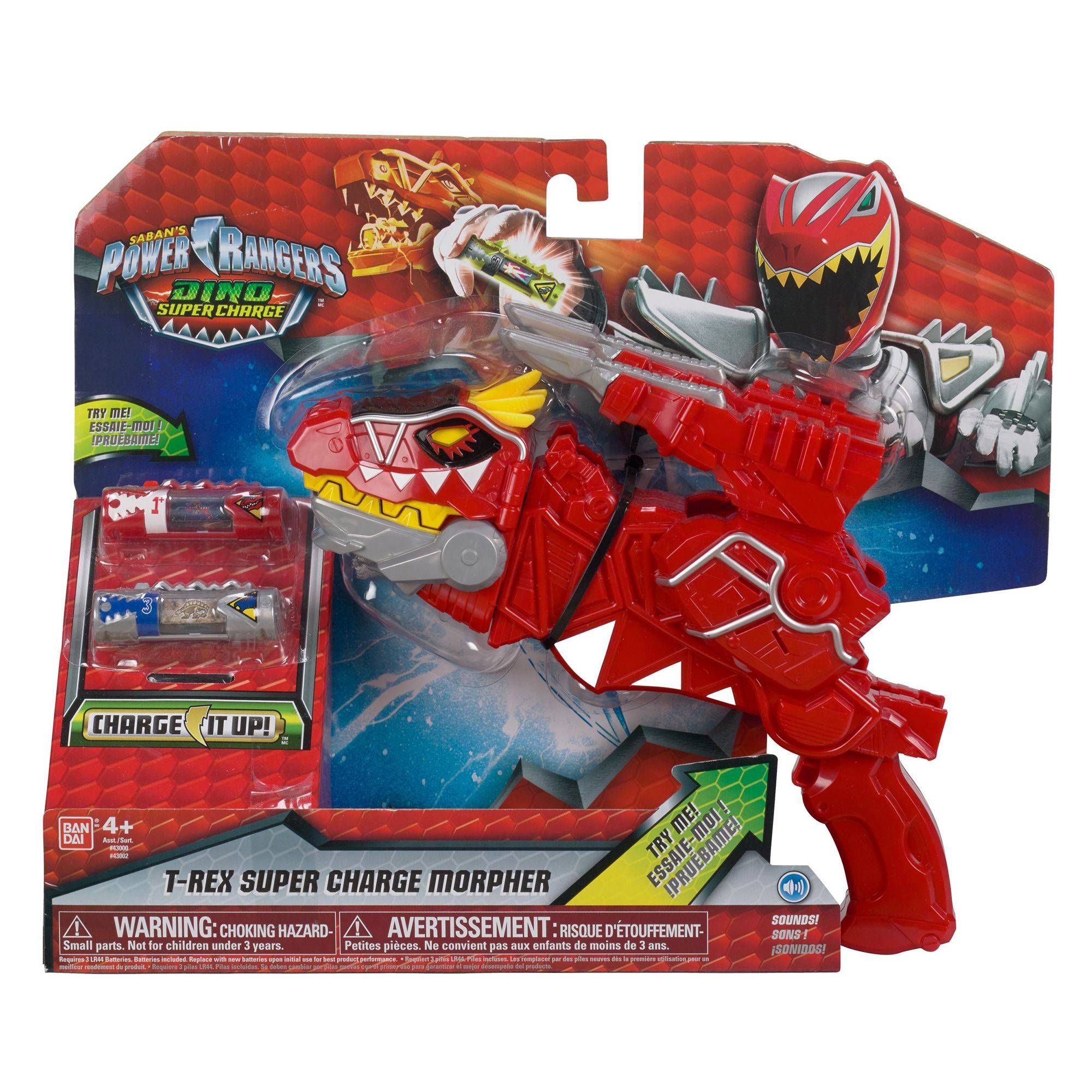 Power Rangers Dino Super Charge Dx T-Rex Morpher