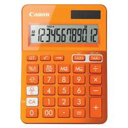 Canon Metallic Orange Calculator LS-123K