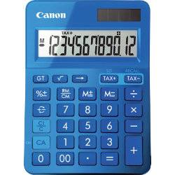 Canon Metallic Blue Calculator LS-123K