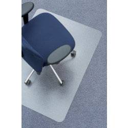 Clear style recycled PET floor mat for soft floors – 1170 x 1350mm