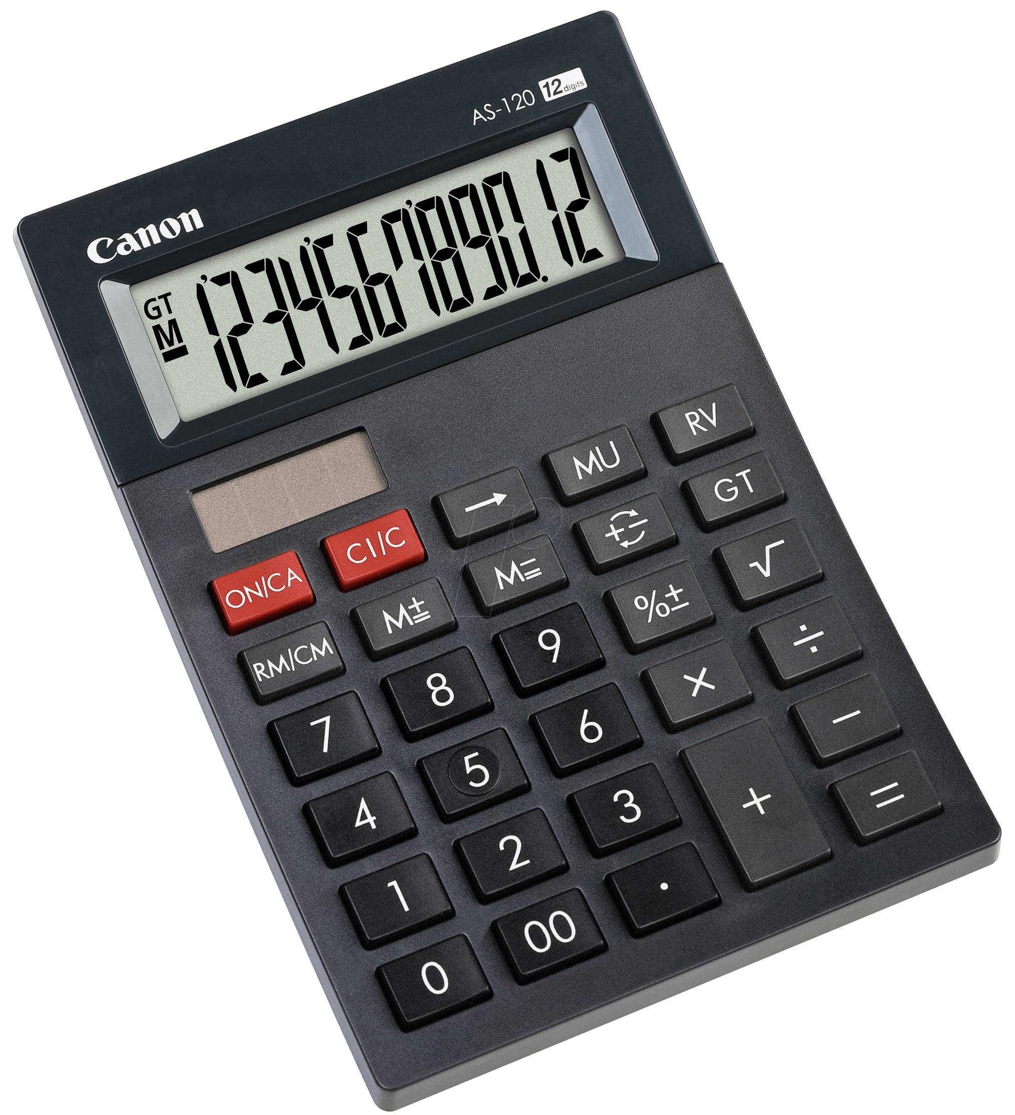 Canon AS-120 - Mini calculator, black