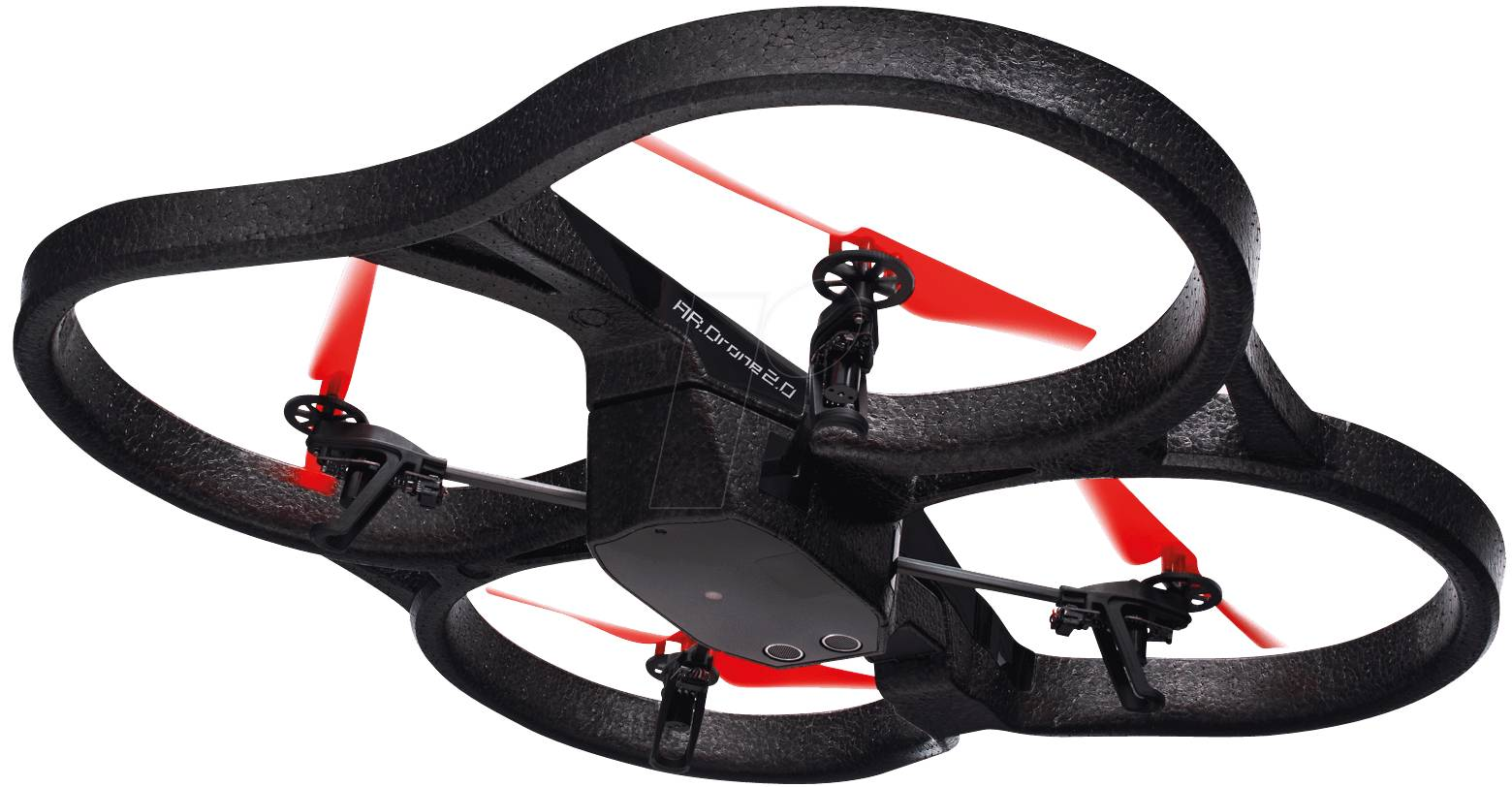 PARROT AR DRONE2.0PE RT - Quadrocopter Power Edition [red]
