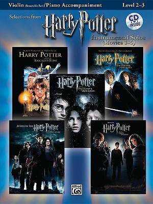 Harry Potter Instrumental Solos (Movies 1-5): Violin (Removable Part)/Piano Acco