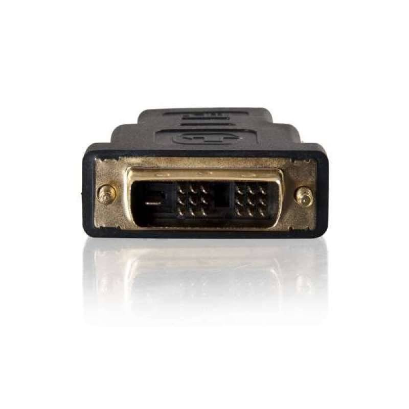 C2G Velocity Inline Adapter - Video adapter - HDMI / DVI - DVI-D (M) -