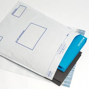 Postsafe Extra-Strong Peel and Seal Polythene Envelopes Opaque - 335x4