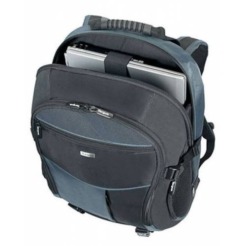 "Targus XL Backpack Carry Case, For Laptops up to 17"" - Black / Bl"