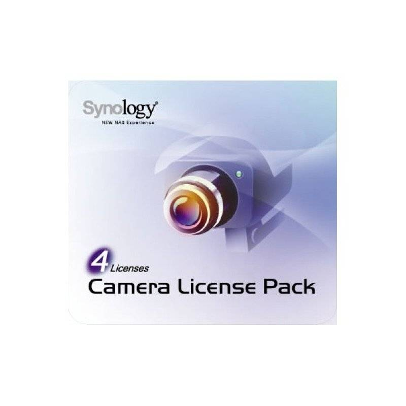 Synology CAM PACK-4 Cameras Licence Pack x 4