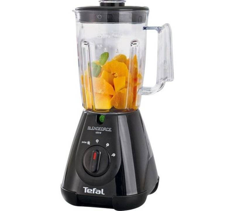 Tefal 400W 1.5 Litre Blendforce Triplax Blender Black