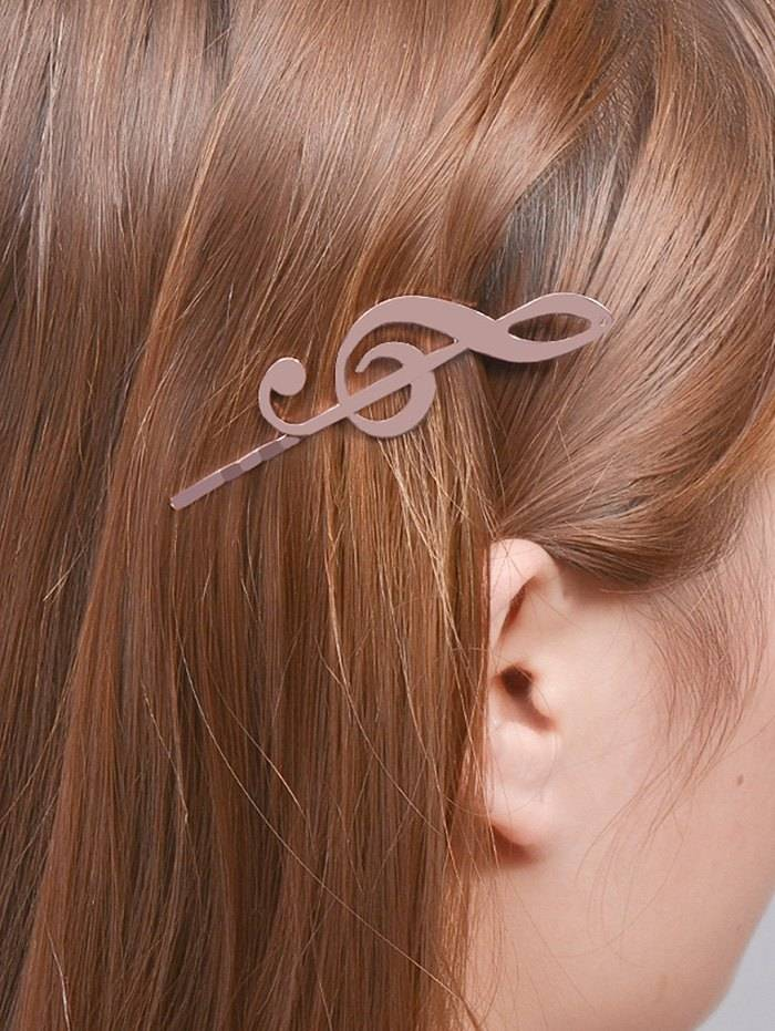 ZAFUL Music Note Alloy Hair Accessory (Sizes: )