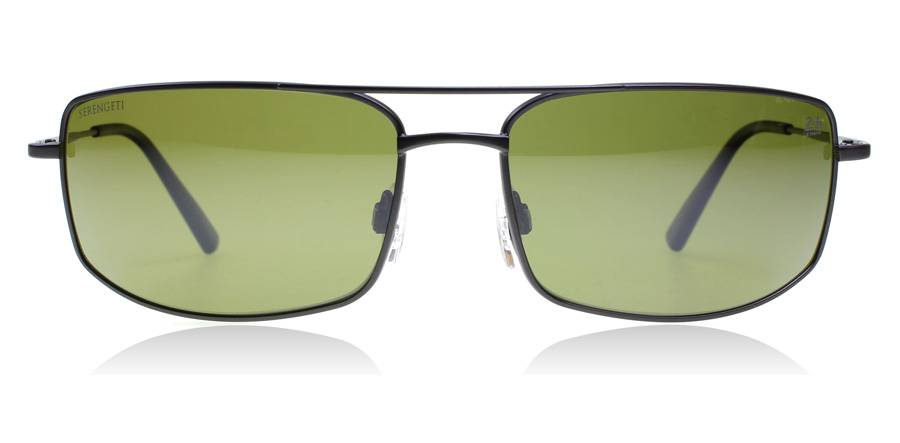 Serengeti Treviso Sunglasses Gunmetal PET Polarized 65mm