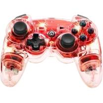 No Name (foreign brand) Gamepad Manette sans fil Afterglow rouge PlayStation® 3, PC Tr