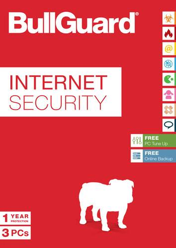 BullGuard Internet Security - 3 User / 12 Months, ESD (Download) (PC)