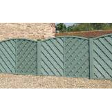 Grange St. Lunairs Fence Panel Green (H)1.2m x (W)1.8m - Pack of 10