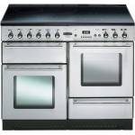 Rangemaster TOLS110ECSS Toledo Stainless Steel with Chrome Trim 110cm Electric Ceramic Range Cooker