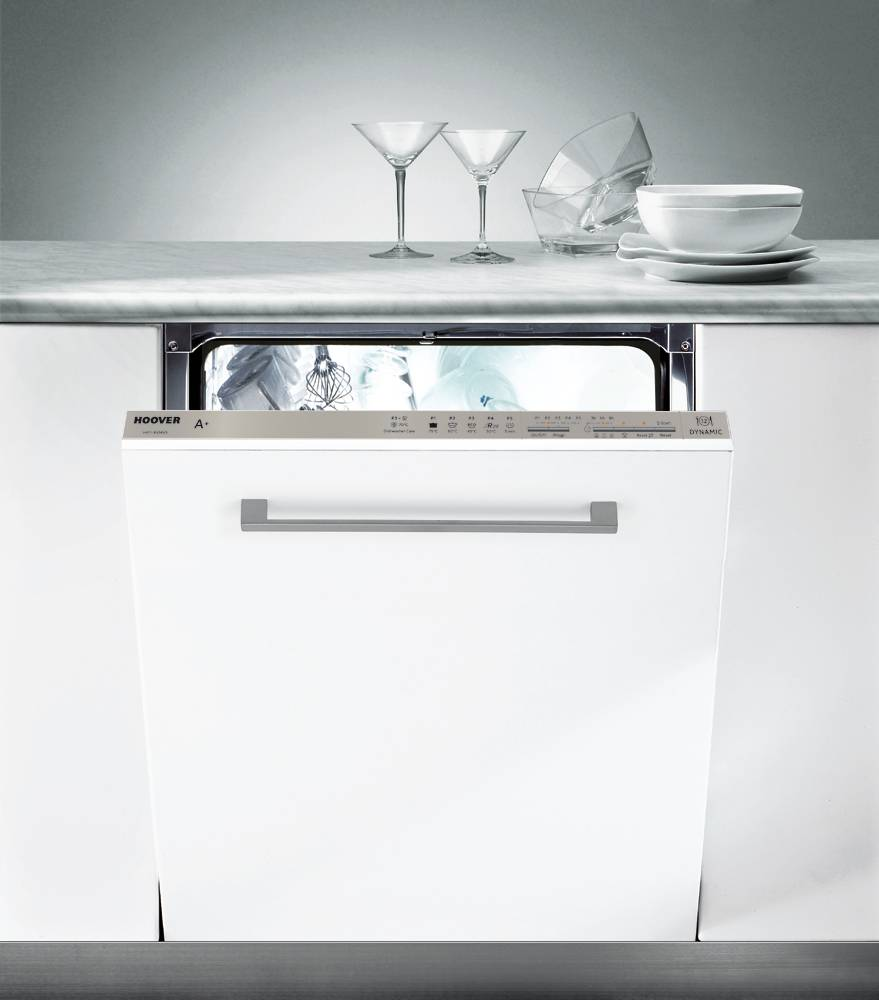 Hoover HFI6060 Built In Fully Integrated Dishwasher - Stainless Steel