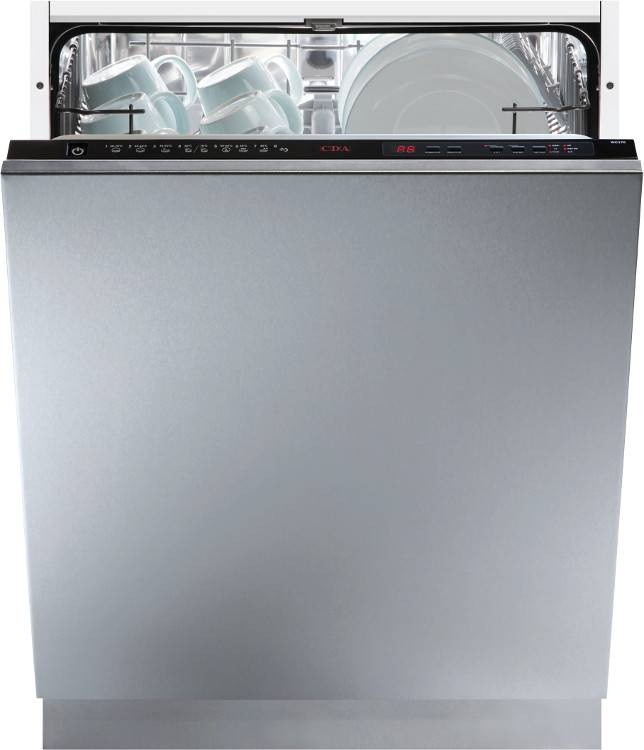 CDA WC370IN Built In Fully Integrated Dishwasher - Black