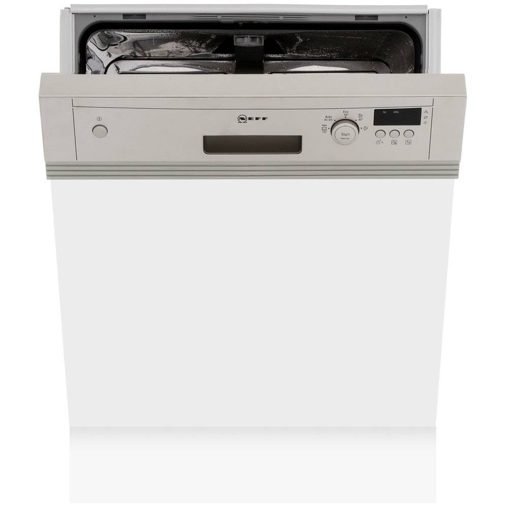 Neff S41E50N1GB Built In Semi Integrated Dishwasher - Stainless Steel