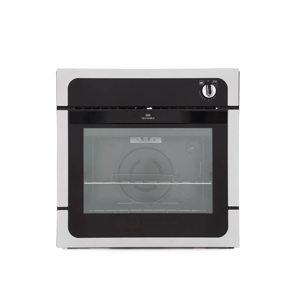 New World White Single Built In Gas Oven