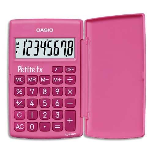 "Unknown Casio School Calculator LC-401LV ""Petite fx"" in Pink"