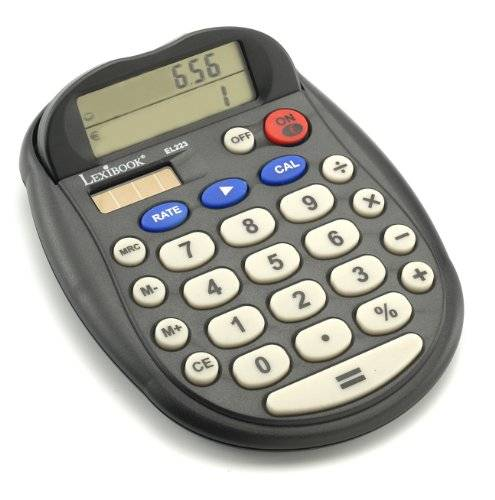 Lexibook Euro Desk Calculator