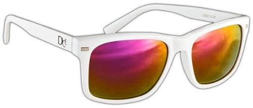 Dice Sunglasses Multi-Coloured Shiny White/Lilac Size:One Size