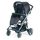 Bebecar Act Pushchair Chrome Chassis (Bronze Velet)