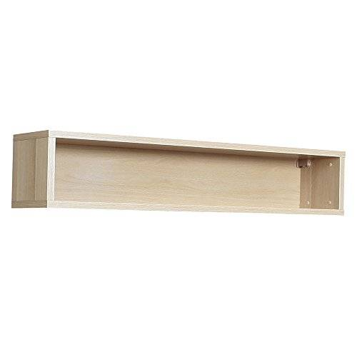Furniture 2 Go Furniture To Go Claire Open Wall Shelving, 136 x 31 x 25 cm, Beech