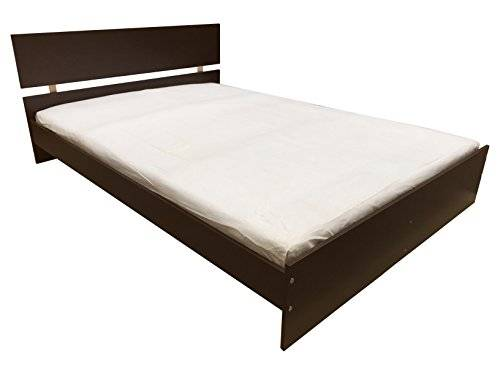 Ashcraft Furniture Napoli Bed, Double, 67 x 141 x 195 cm, Wenge