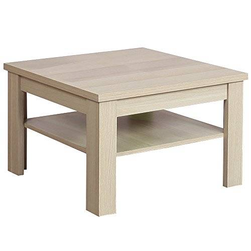 Furniture 2 Go Furniture To Go Claire Coffee Table, 75 x 48 x 75 cm, Beech