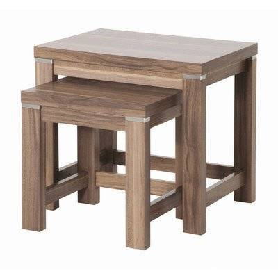 HAKU Furniture 42814 Set of 2 Tables, 35/43 x 33/46 x 30/35 cm