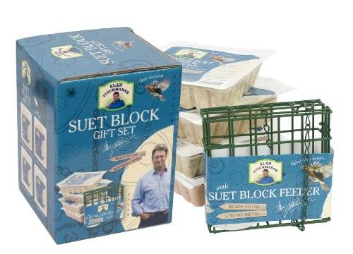 Pet Brands Alan Titchmarsh Variety Suet Blocks and Feeder