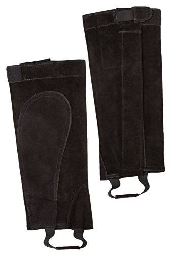 Pet Supplies Albert Kerbl Gmbh Kerbl 327217 Leather Minichaps Black M M