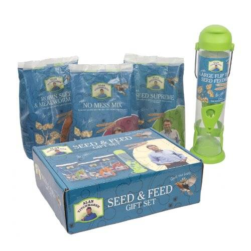 Pet Brands Alan Titchmarsh Variety Seed Mix and Feeder Gift Set