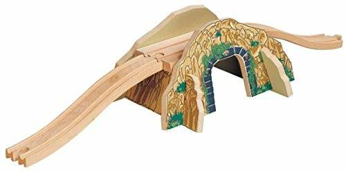 Toys For Play Wooden Railway Mountain Overpass