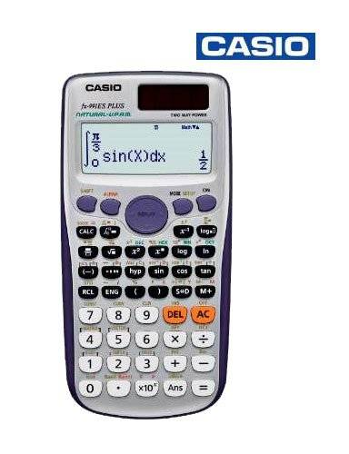 Casio Scientific Calculator FX-991ESPLUS ( (CASIO) Scientific Calculator (FX-991ESPLUS) With 417 functions and the revolutionary Natural Textbook Display you are able to enter expressions as seen in your text books. With advanced mathematical functionalit