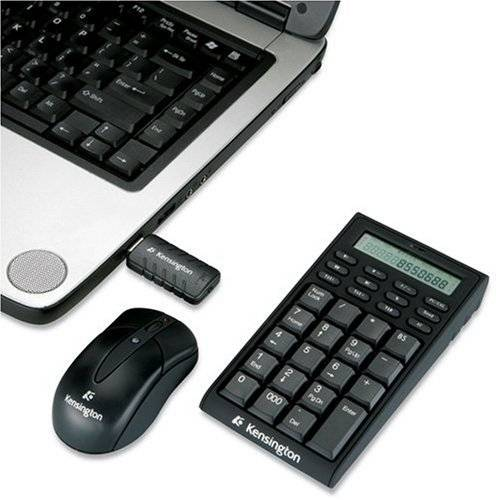 Kensington Wireless Keypad Calculator Mouse Set