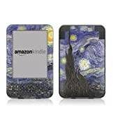"Decalgirl Kindle Keyboard Skin - Van Gogh Starry Night - High quality precision engineered removable adhesive vinyl skin for the 3G + Wi-Fi 6"" E Ink Display Kindle 3"