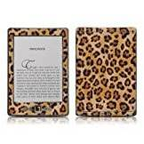 "Decalgirl Kindle 4 skin - Leopard Spots - High quality precision engineered removable adhesive skin for the Amazon Kindle (4th generation Wi-Fi 6"" E Ink Display e-book reader)"