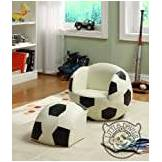 Little Striker Kids Chair LITTLE STRIKER KIDS FOOTBALL CHAIR sport theme / games chair armchair childrens playroom