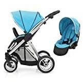 BabyStyle Oyster MAX Inline Double Baby Pushchair (inc 2nd Seat) Ocean Blue