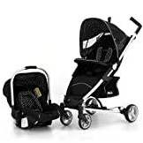 Petite Star Zia4+ Travel System (Black Polka Dot)