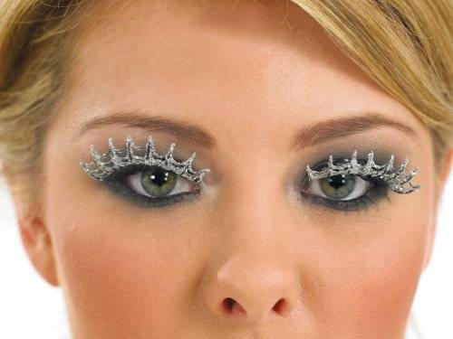 Annis Lingerie Silver Spiders Web Eyelashes