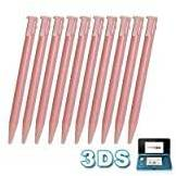 First2savvv PG0101X10 First2savvv replacement pink Stylus Pen For Nintendo 3DS
