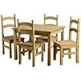 Seconique Mexican Pine Budget Dining Set