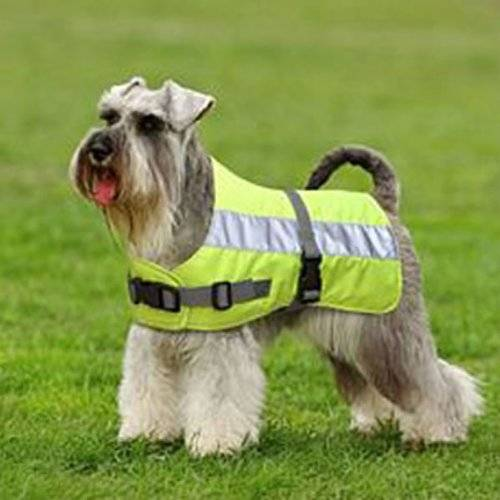 "Pet-Bliss Dog coat-Hi Visibility reflective lined insulated Size 30""75cm"