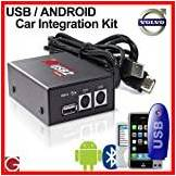 GROM Audio USB MP3/Android car stereo integration kit for 2001+ Volvo