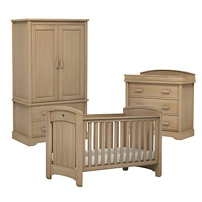 Boori Classic Royale Cotbed, Dresser and Wardrobe Furniture Set, Almond