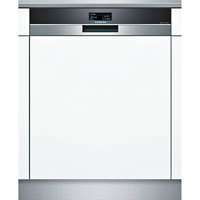 Siemens SN578S00TG Semi-Integrated Dishwasher, Stainless Steel